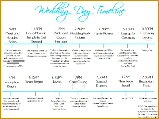 9 Event Timeline Templates Free Sample Example Format Event - wedding event timeline template