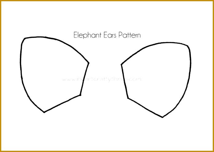 Elephant cut out template colbro 3 elephant cut out template fabtemplatez maxwellsz