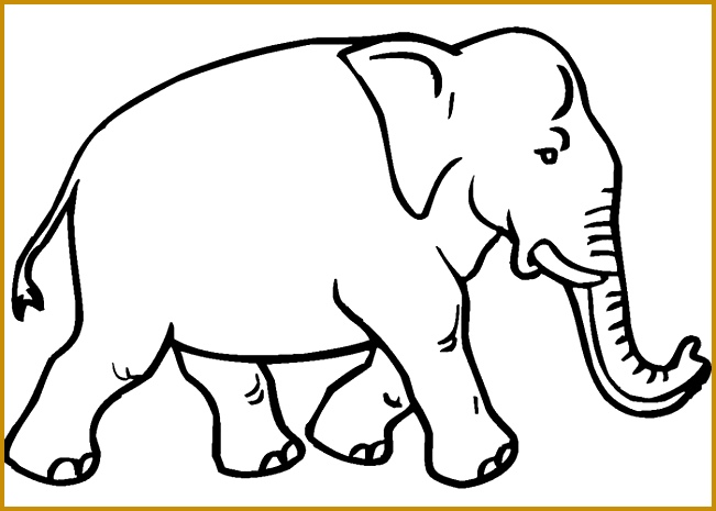 3 Elephant Cut Out Template FabTemplatez - elephant cut out template