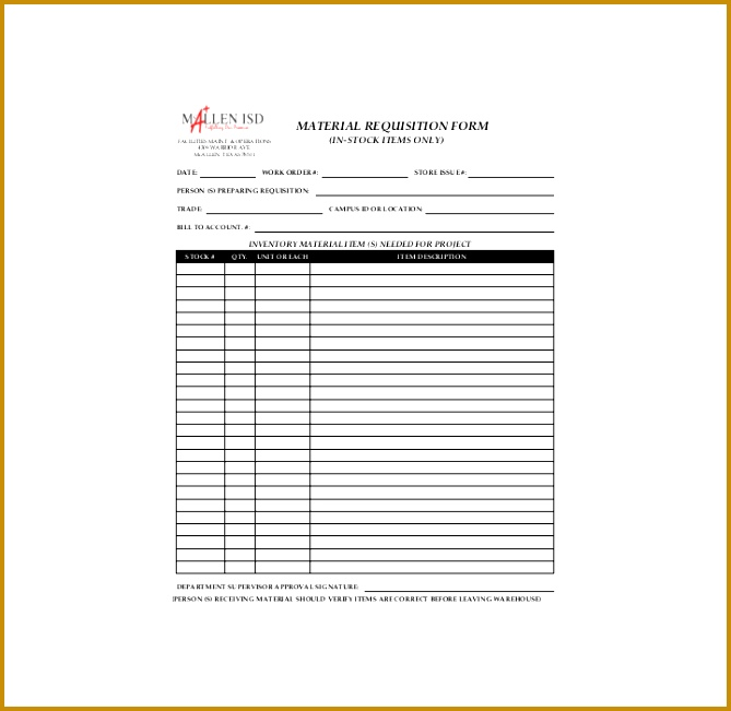 Top Result 70 Beautiful Requisition form Template Download Free - free requisition form