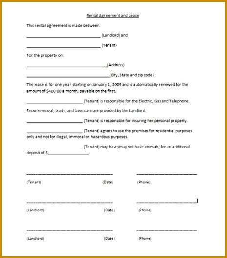 4 Free Printable Dj Contracts FabTemplatez