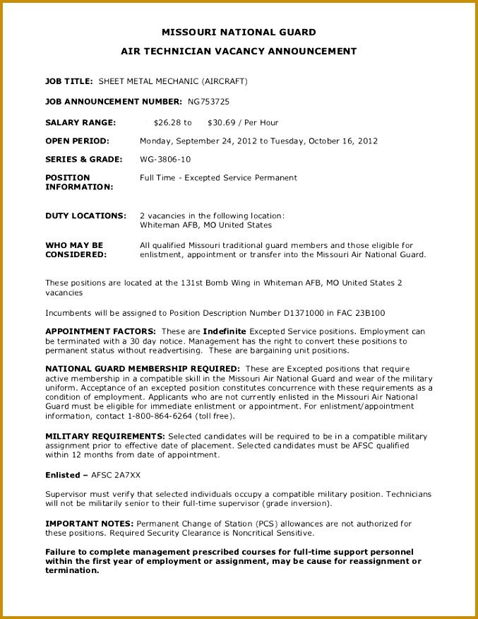 4 Mechanic Job Sheet Template FabTemplatez - sheet metal mechanic sample resume