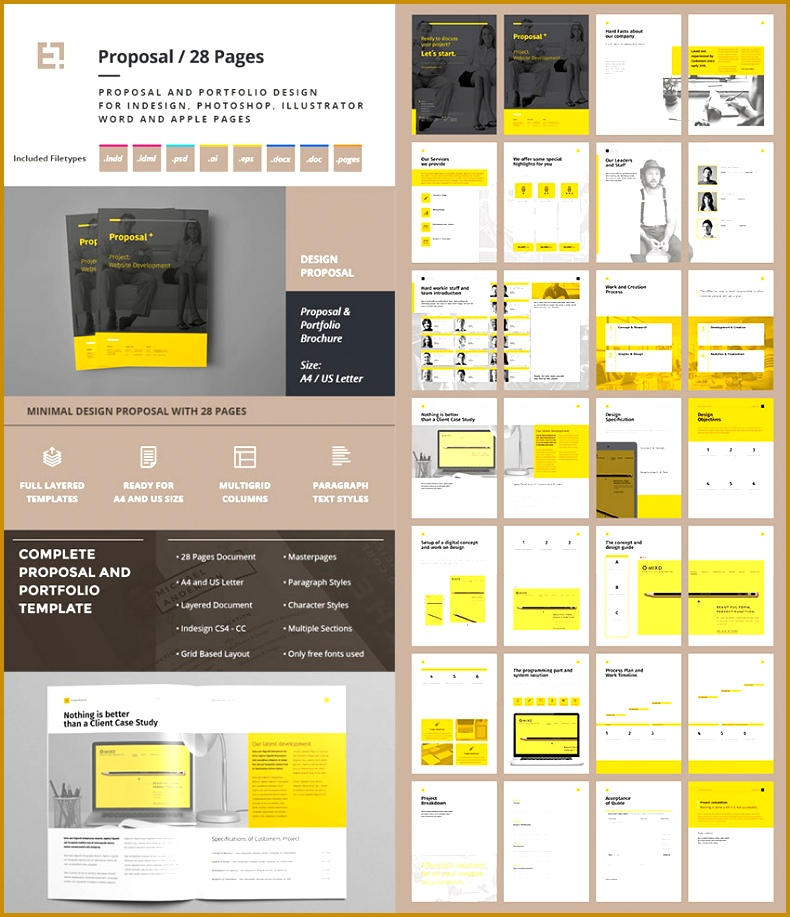 4 Microsoft Word Proposal Template Free Download FabTemplatez - microsoft word proposal template free download