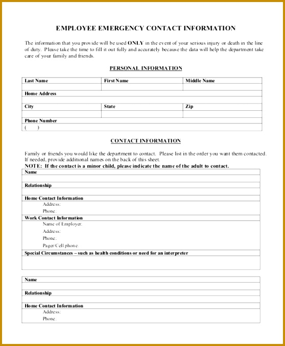 Employee New Hire Form Template  employee info sheet \u2013 virtuartme - sample new hire checklist template