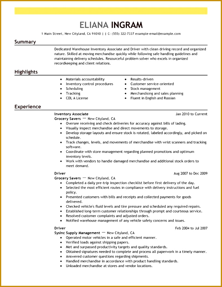 rgis inventory associate part time retail inventory associate - inventory associate sample resume