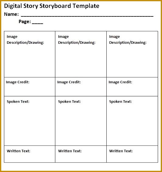 Sample Video Storyboard Template video storyboard template u2013