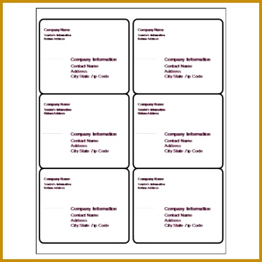 5 Template for Place Cards 6 Per Sheet FabTemplatez - free place card template 6 per sheet