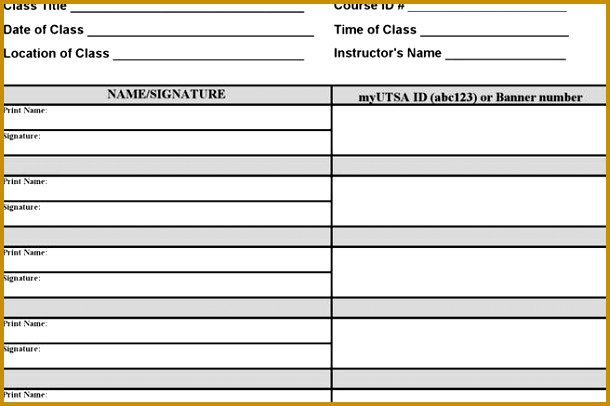 Training Sign In Sheet Example vehicle log book format excel