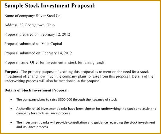 6 venture capital investment proposal template fabtemplatez