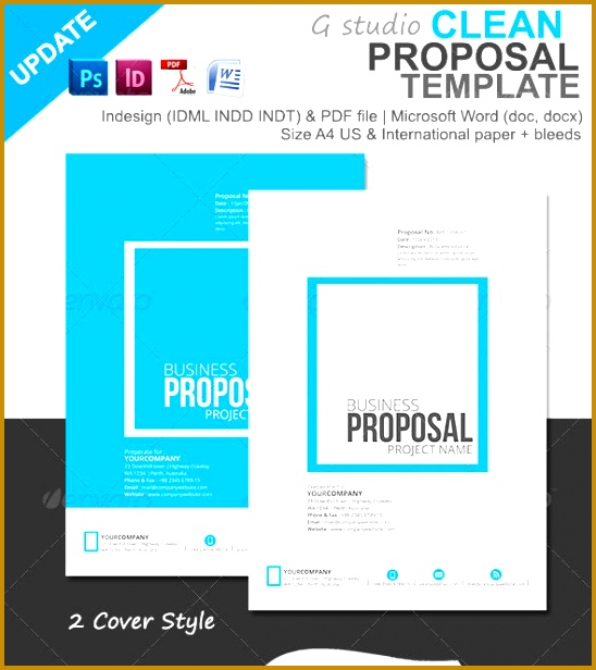 Simple Website Design Proposal Template Simple Website Design