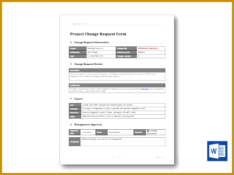 change management form template lanearnoldco - oukasinfo