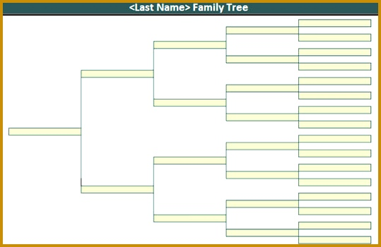 7 Family History Tree Word Template FabTemplatez