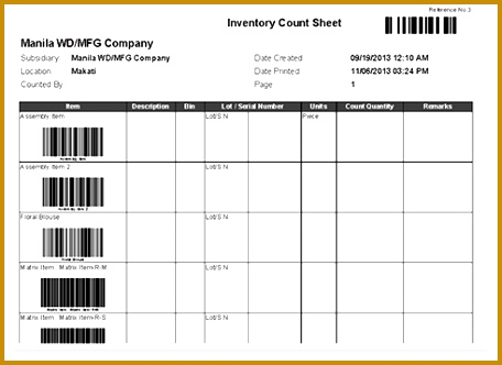 Surgical Count Sheet Template | cvfree.pro