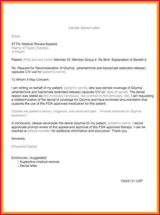 va appeal letter sample