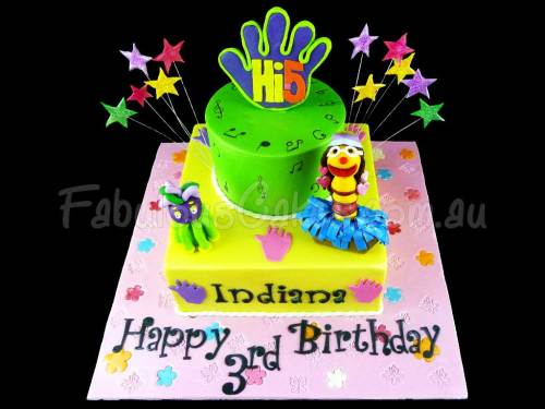 Hi5 Birthday Cake