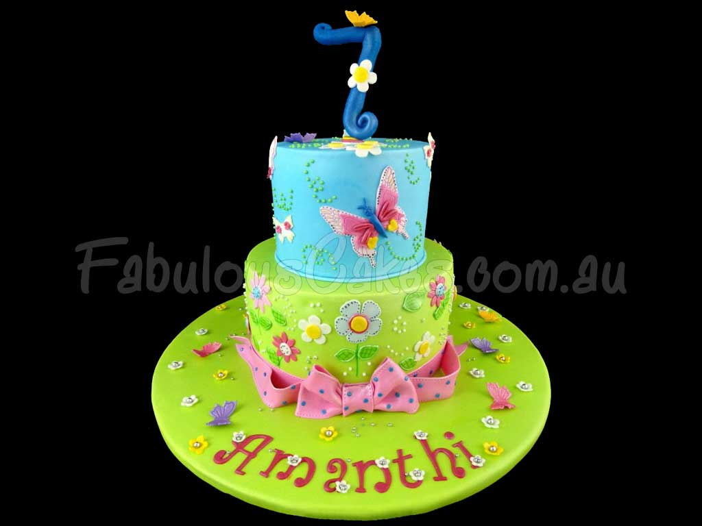 Whimsical 7th Birthday Cakes Fabulous Cakes