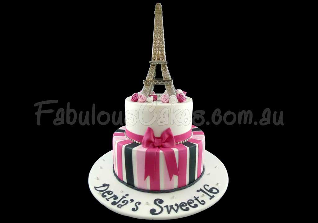 16th Birthday Cakes Fabulous Cakes