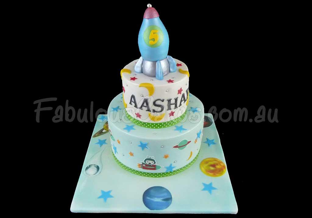 Space Themed Birthday Cakes Fabulous Cakes