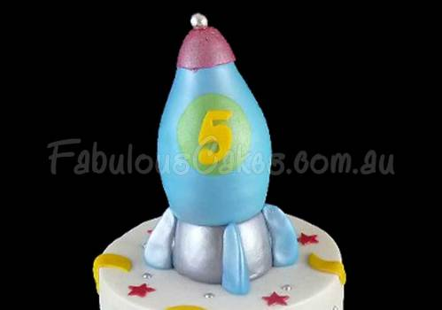 Space Themed Birthday Cake