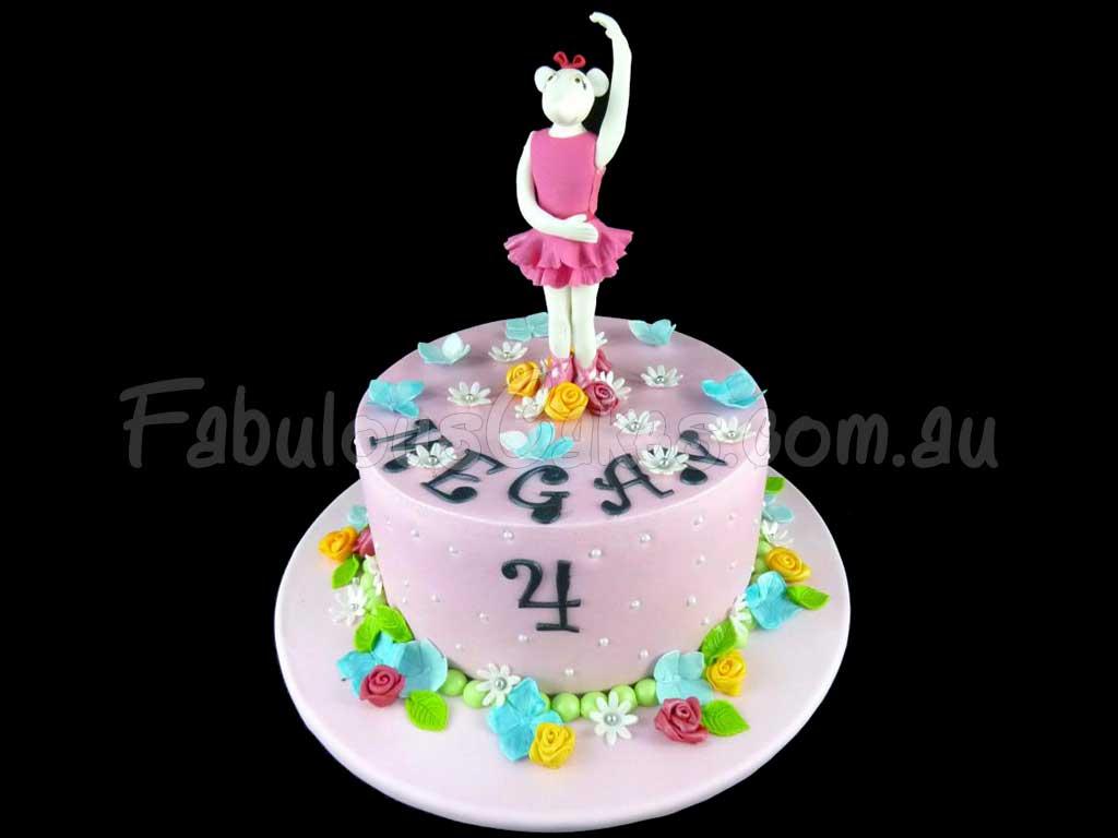 Angelina Ballerina Cakes Fabulous Cakes