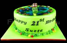Loch Ness Monster Cakes