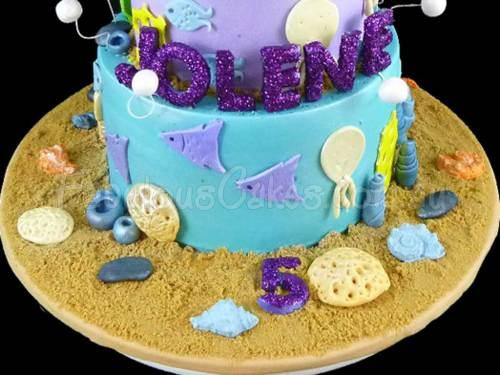 Ariel the Mermaid Cake
