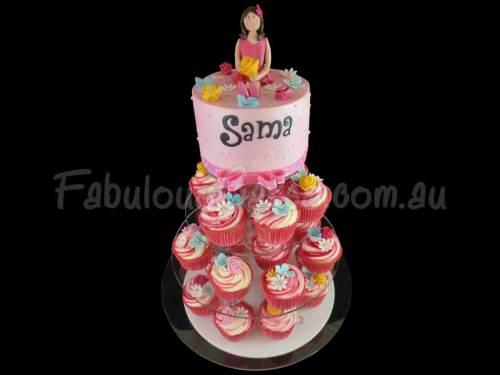 Cupcake with Cake