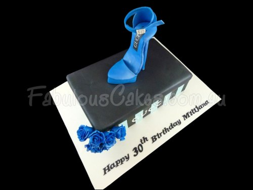 Gucci Stiletto Shoe Cake