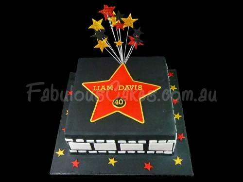Holywood Theme Cake