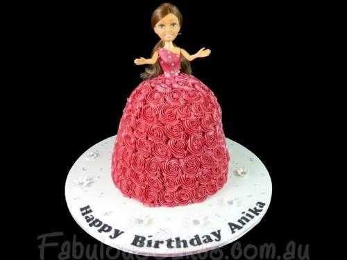 Angel Birthday Cake
