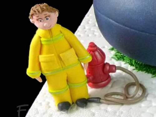 Cake for a Fireman