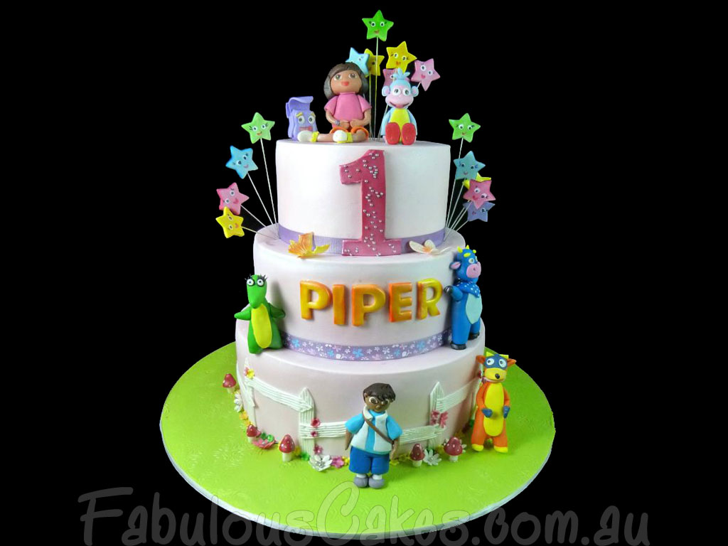 Dora the Explorer Cakes Fabulous Cakes