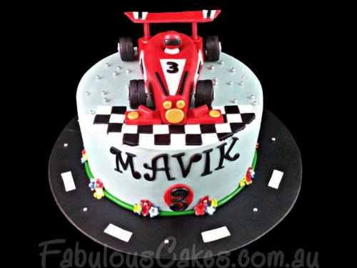 Edible Racing Car
