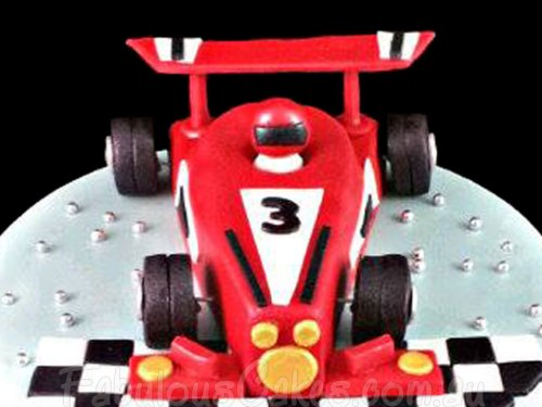 Edible Racing Car