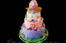 Sofia the First Theme Cakes