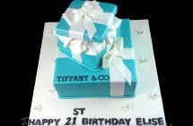 Tiffany & Co Cakes