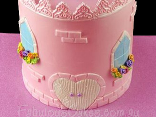 Princess Castle Cake