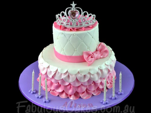 Princess Theme Cake