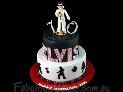 Rock and Roll Theme Cake