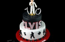 Rock and Roll Theme Cakes