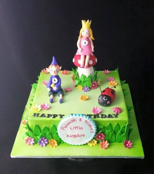Little kingdom theme cake