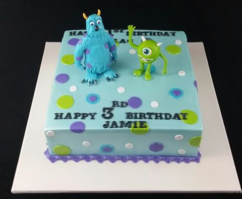 Monster Inc Cakes Fabulous Cakes