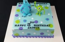 Monster Inc Cakes