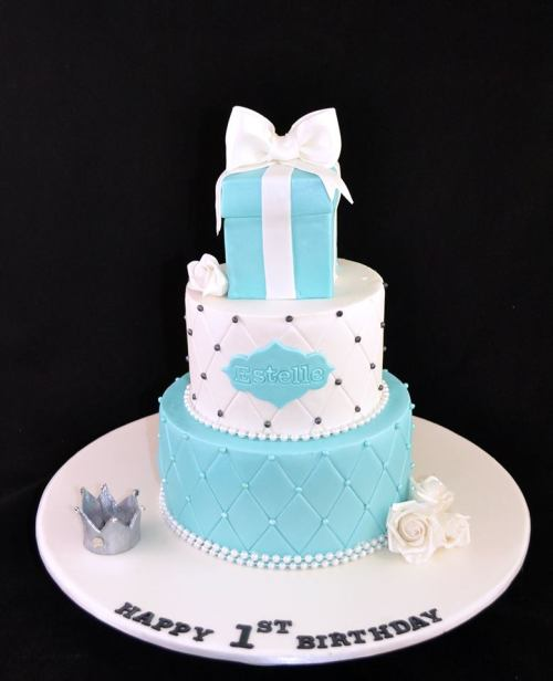 Tiffany and Co Theme Cake