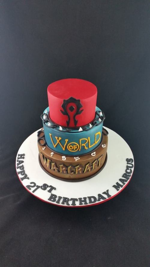 World of War Craft Cake