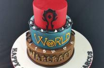 World of War Craft Cakes