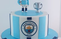 Manchester City Cake