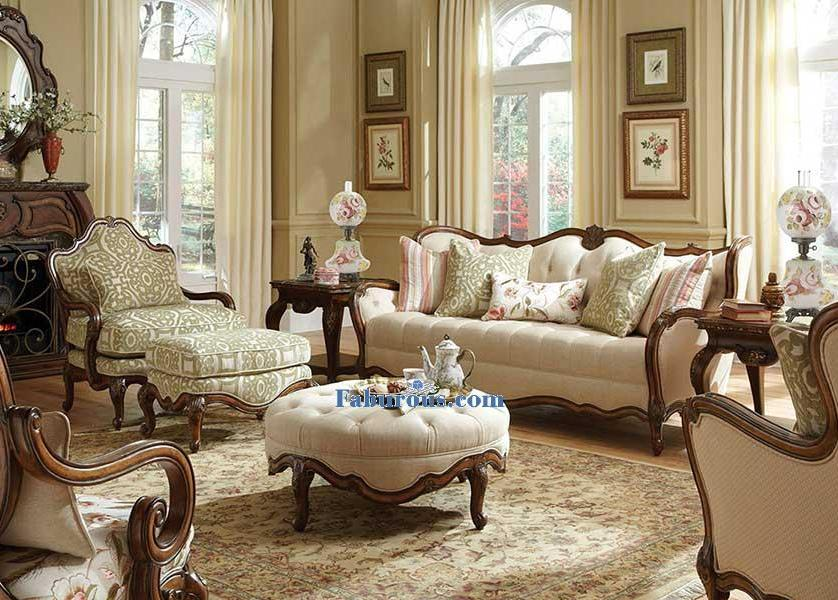 look with a twist this stunning pearl white victorian living room