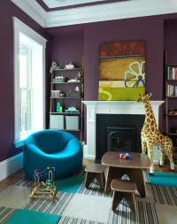 10 Purple Modern Living Room Decorating Ideas - Interior ...