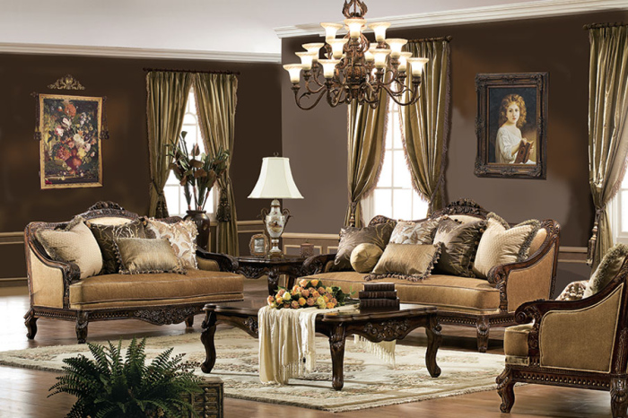 √ 10 Victorian Style Living Room Designs